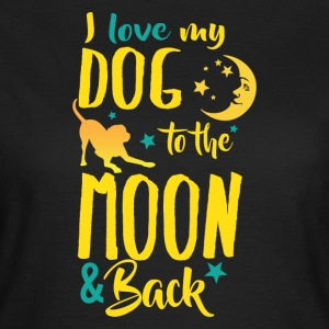 Dog moon - Women's T-Shirt
