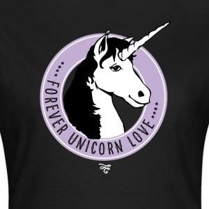 unicorn rose immortal love fairy mystical Wonderland - Women's T-Shirt