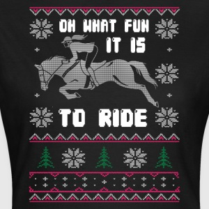 OH WHAT FUN IT IS TO RIDE - Women's T-Shirt