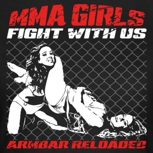 MMA Girls - Fight Wear - Mix Arts Martiaux - JJB - T-shirt Femme