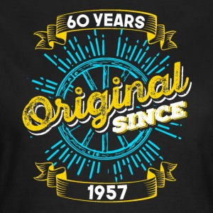 60th birthday 1957 - Women's T-Shirt