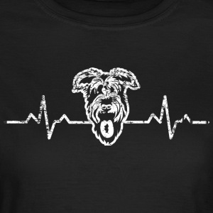 A heart for Schnauzer dog - Women's T-Shirt