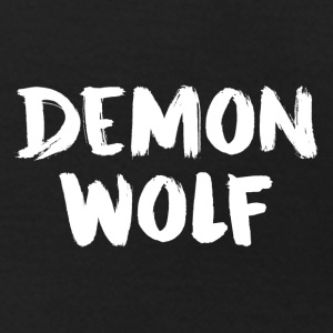 DemonWolf textlogo - T-shirt dam