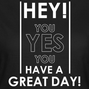 Hey you! - T-shirt dam