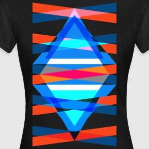 TMH - structure de triangle triangulaire - T-shirt Femme