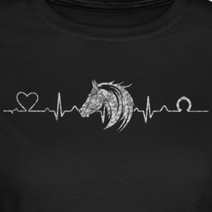 Heartline horse - Women's T-Shirt