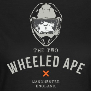 Two Wheeled Ape Biker T-shirt - Women's T-Shirt