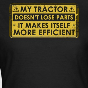 Funny Tractor Gift Idea - Women's T-Shirt
