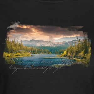 Nature Groove - T-shirt dam