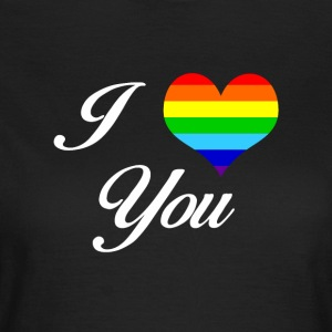 LGBT I LOVE YOU - Vrouwen T-shirt
