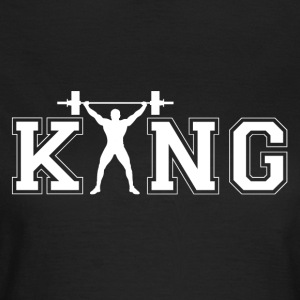 Bodybuilder King - Women's T-Shirt
