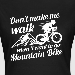 Mountainbike - Women's T-Shirt