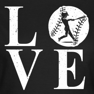 L'amour de base-ball - T-shirt Femme