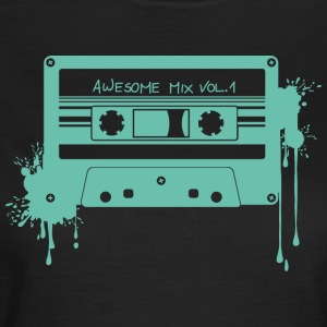 RETRO CASSETTE in turquoise - Women's T-Shirt
