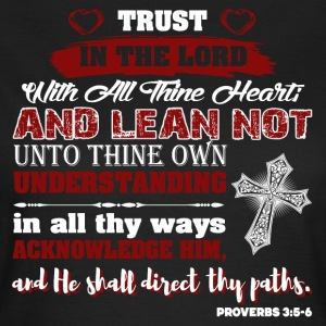 Trust God Psalm - Women's T-Shirt