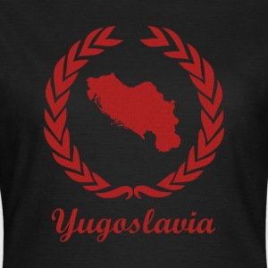 "Se connecter ExYu ""Yougoslavie"" Red Edition - T-shirt Femme"