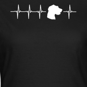 Funny German Standing Dog Gift Idea - Women's T-Shirt