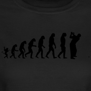 Golf evolution - Frauen T-Shirt