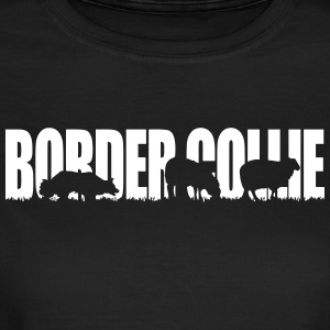 Border collie Brukshund - T-shirt dam