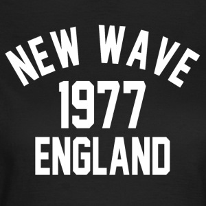 New Wave 1977 England - Dame-T-shirt