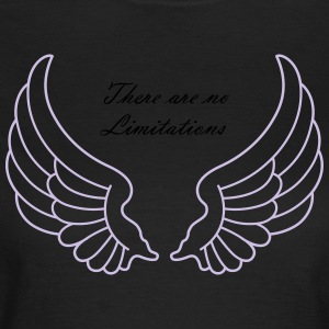 There are no Limitations - Vrouwen T-shirt