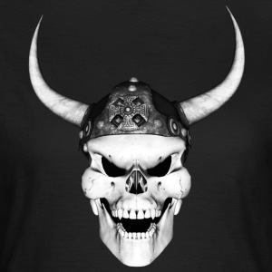Viking Skull 2 - Dame-T-shirt