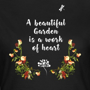 Garden gardening plants love flowers hobb - Women's T-Shirt