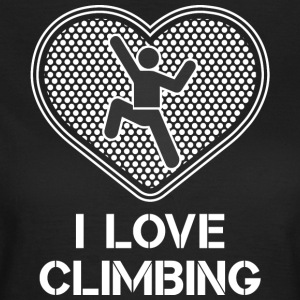 I love Climbing - Women's T-Shirt