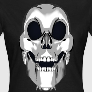 Crazy Smile Skull - T-skjorte for kvinner