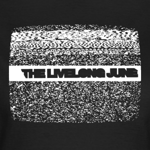 Livelong Juni - Logo + Analog TV - T-skjorte for kvinner
