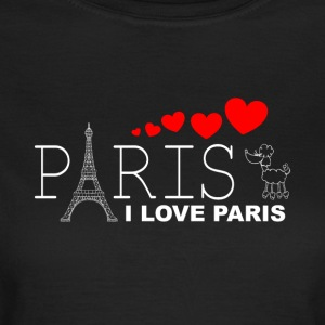 I LOVE PARIS 2WR - Frauen T-Shirt