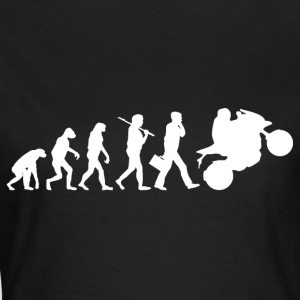 motorcycle evolution - Women's T-Shirt