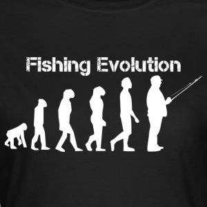 fiske evolution - T-shirt dam