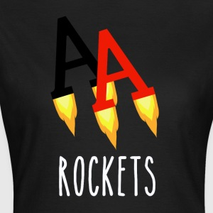 Poker Rockets - Dame-T-shirt
