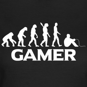 evolution GAMER vægt - Dame-T-shirt