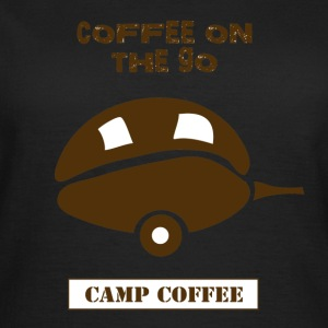 Coffee on the go - Women's T-Shirt