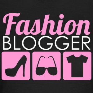 Fashion Blogger - Dame-T-shirt