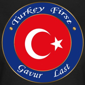 Türkei FIRST - Frauen T-Shirt