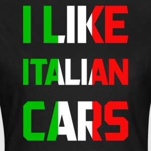 Italy cars - Women's T-Shirt