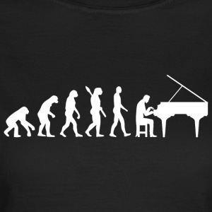 Evolution Piano Piano w - Dame-T-shirt