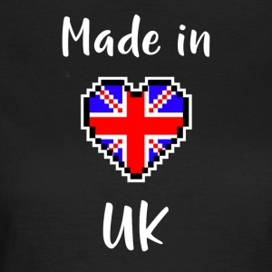 Made in UK - T-skjorte for kvinner
