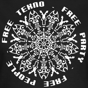 free tekno free party free people - Frauen T-Shirt