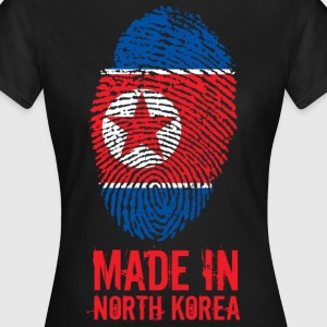 Made In North Korea / Nordkorea / 조선민주주의인민공화국 - Frauen T-Shirt