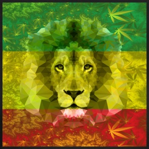 Rasta Lion - Women's T-Shirt