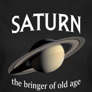 Saturnus - Brenger of Old Age - Vrouwen T-shirt