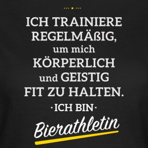 I'm training to become a Beerathletin - Women's T-Shirt