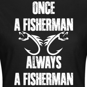 I love Fisherman - Frauen T-Shirt