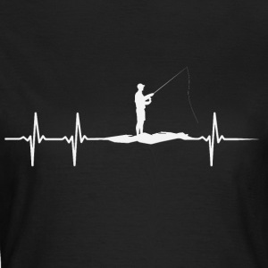 Heartbeat of Anglers - Women's T-Shirt