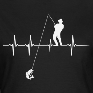 Heartbeat Angler - Women's T-Shirt
