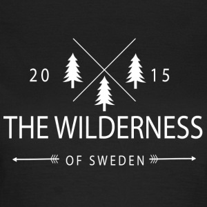 The Wilderness Of Sweden - T-skjorte for kvinner